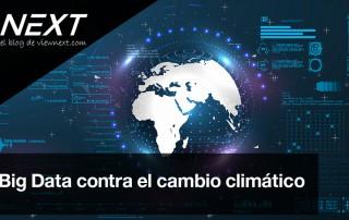 big data cambio climatico