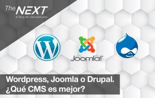 Wordpress Joomla Drupal CMS