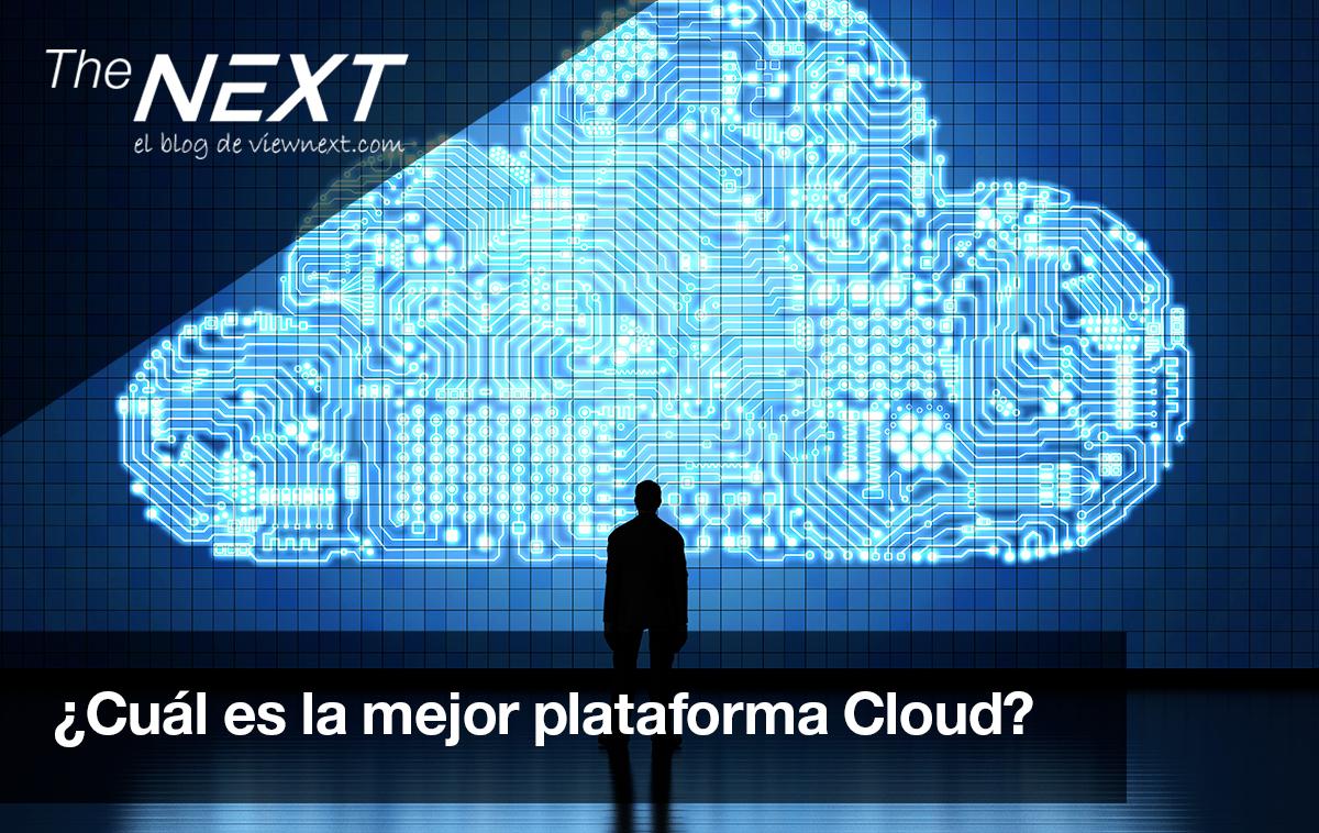 ¿cuál es la mejor plataforma cloud?