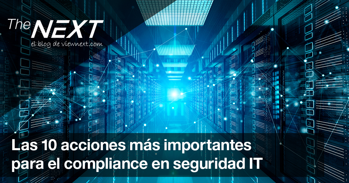 10 acciones importantes compliance IT