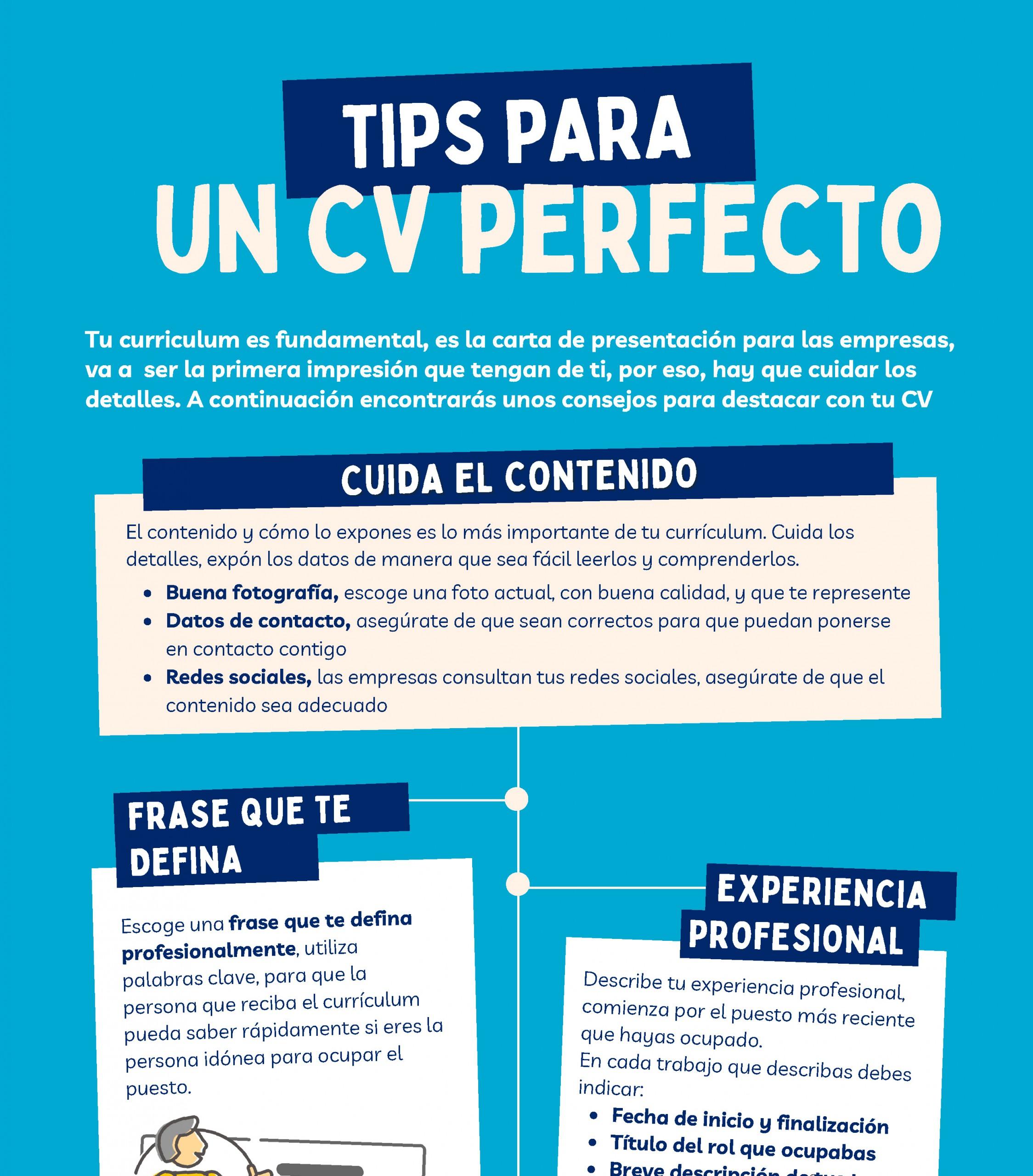 Tips para un CV Perfecto