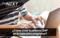 Cómo crear tu entorno SAP en la nube para programar