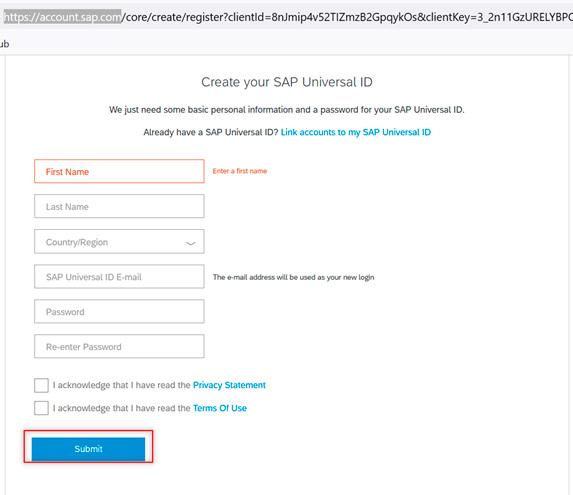 Pantalla 1 Cómo crear tu entorno SAP en la nube para programar