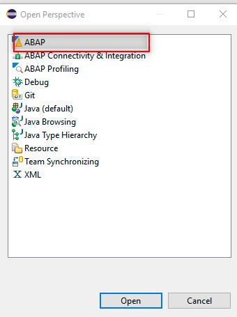 Pantalla 16 Cómo crear tu entorno SAP en la nube para programar